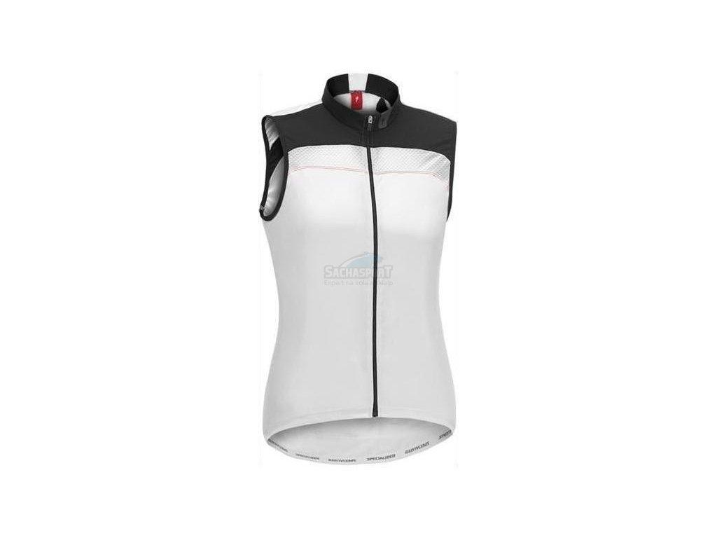 Dres Specialized Pro SVL Jersey white/black L 2014