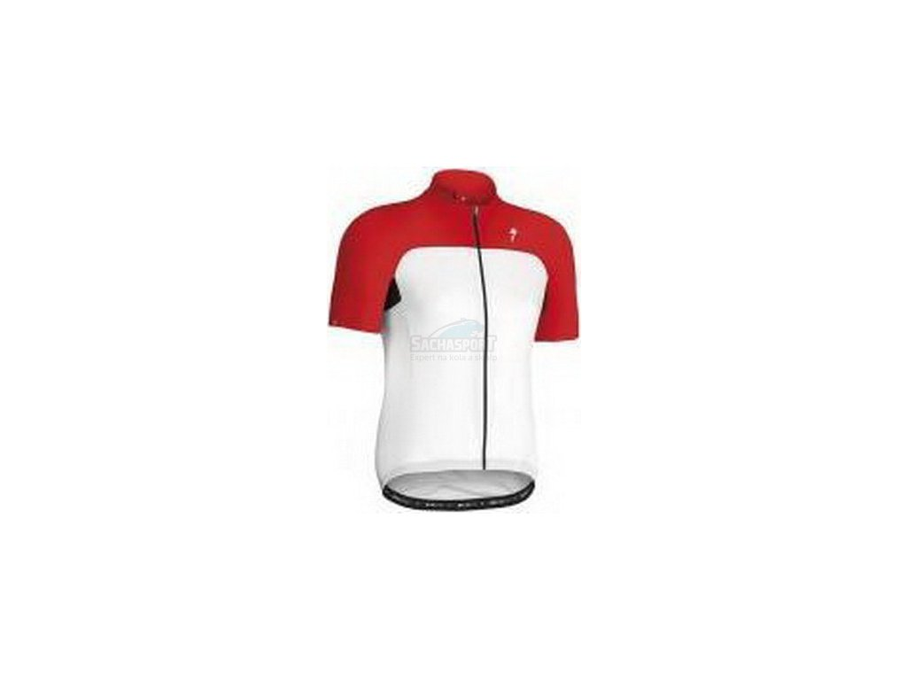 Dres Specialized RBX Sport SS Jersey white/red M 2014