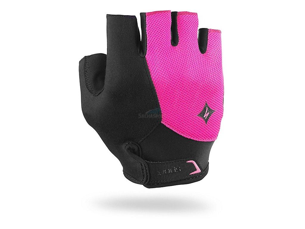 Rukavice Specialized BG Sport WMN black/neon pink M 2017
