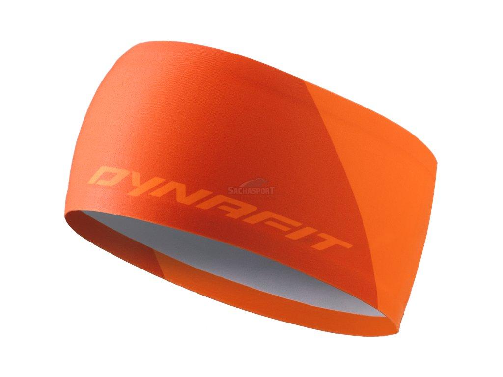 Čelenka Dynafit Performance 2 Dry Headband fluo orange 2021