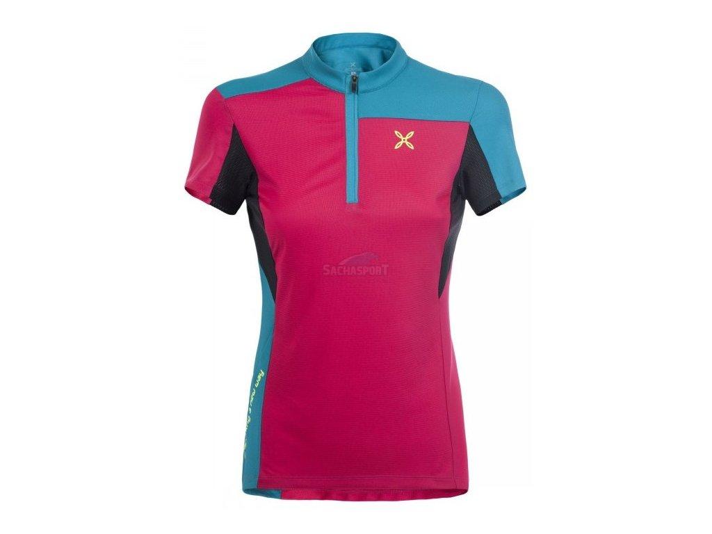 Dres Montura Selce Zip T-Shirt Woman pink 2019