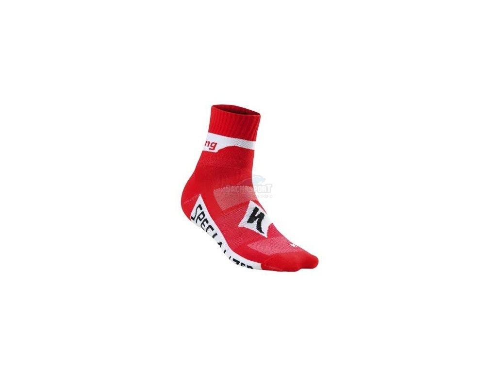 Ponožky Specialized Team Pro WMN red 2015