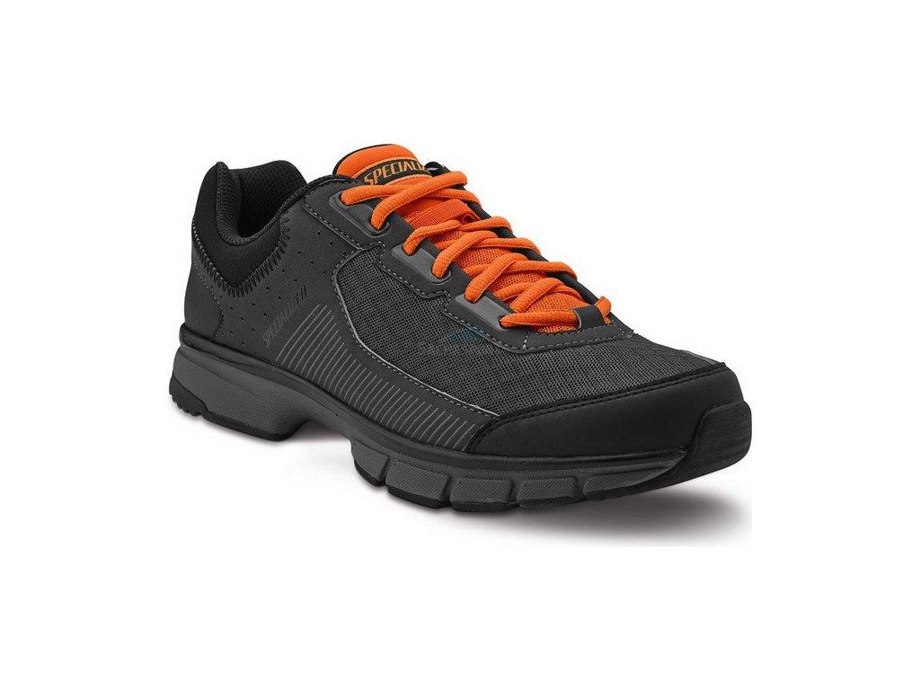 Specialized Cadet black/carbon/bright orange 44 2016
