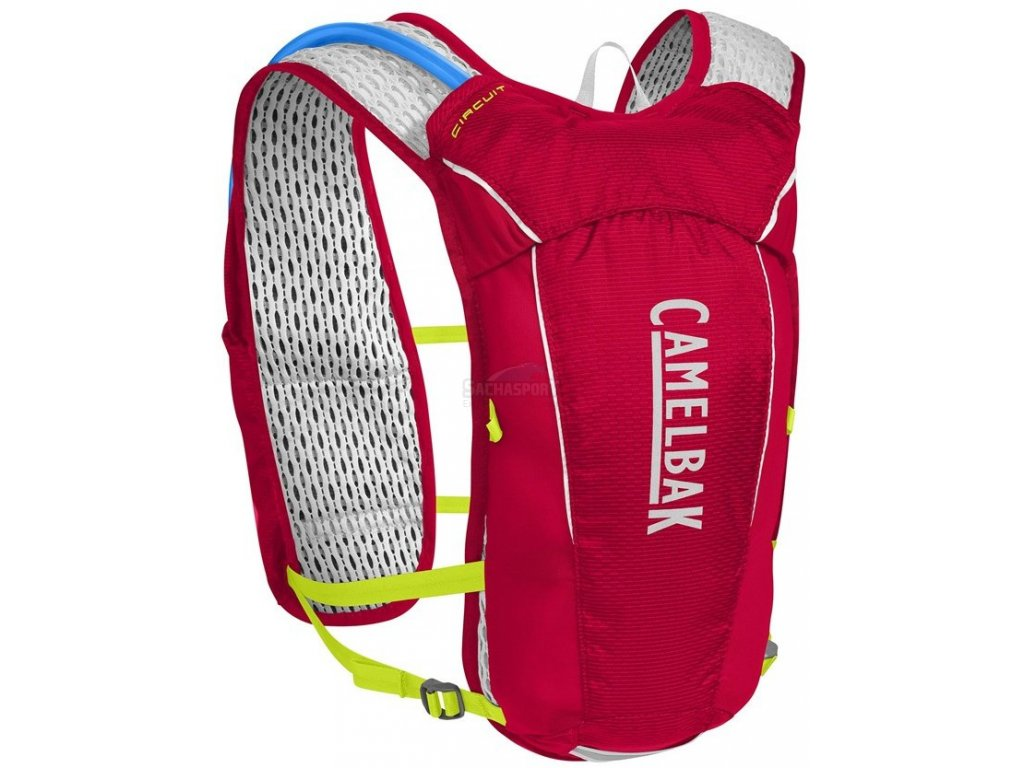 CamelBak Ultra 10 Vest crimson red/lime punch 2018