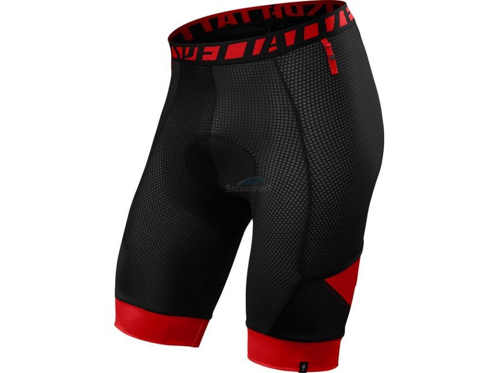 Vnitřní kalhoty Specialized Mtn Liner Short black/red 2018