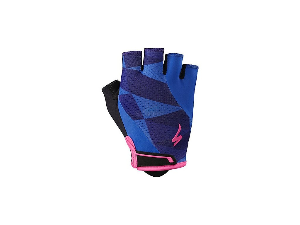 Rukavice Specialized BG Gel WMN indigo/neon pink 2019
