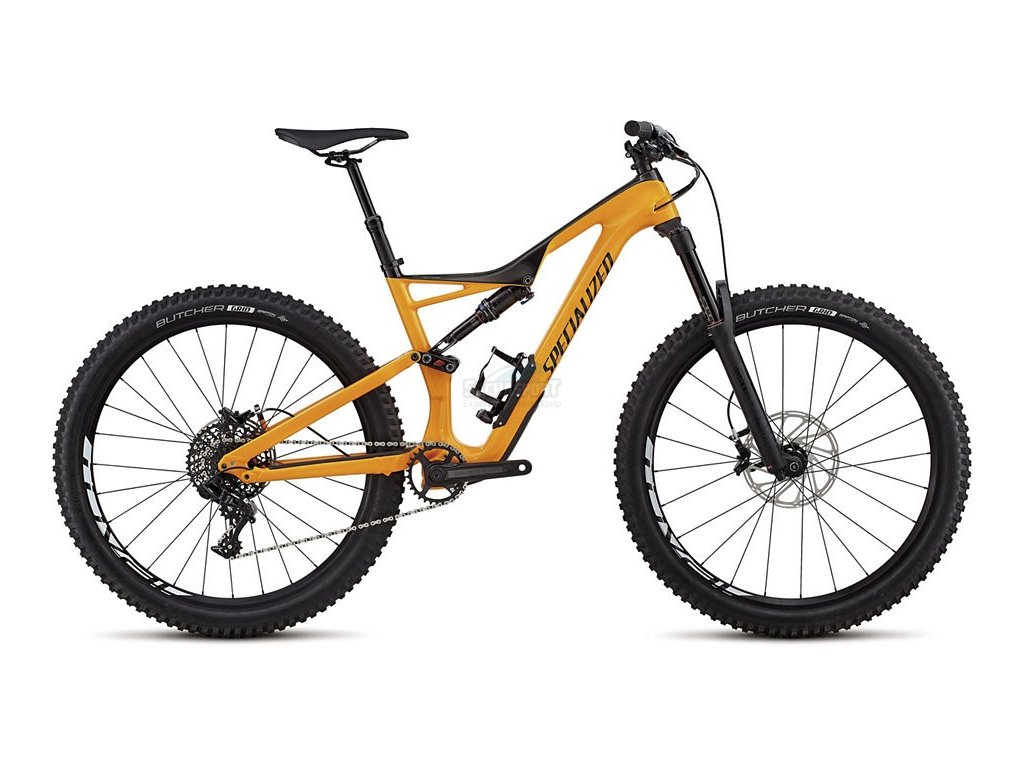 Specialized Stumpjumper FSR Comp Carbon 650b org/carb/blk L 2018
