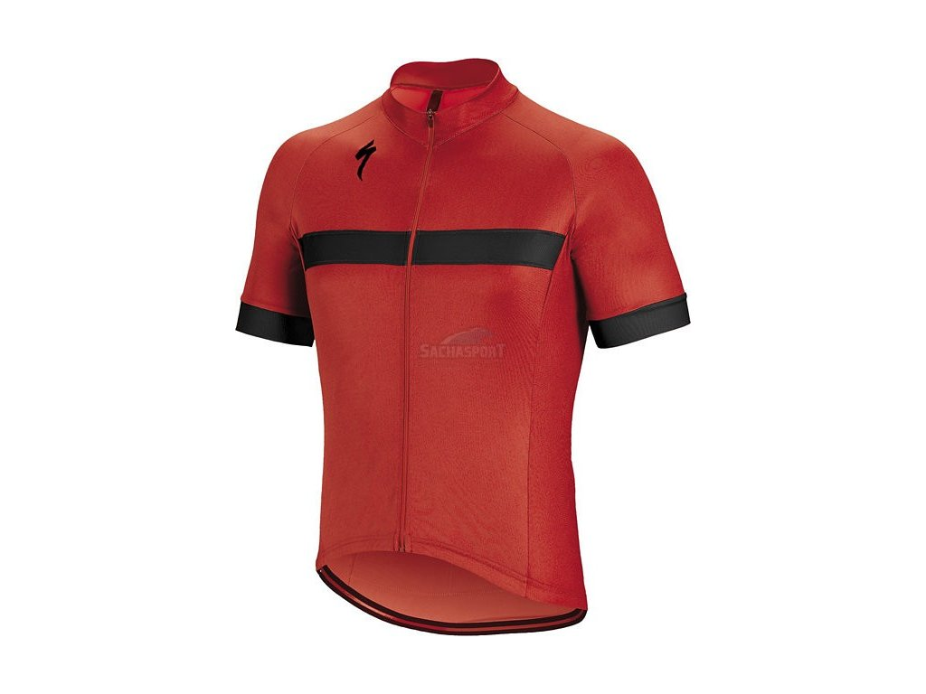 Dres Specialized RBX Sport Jersey SS red/black 2018