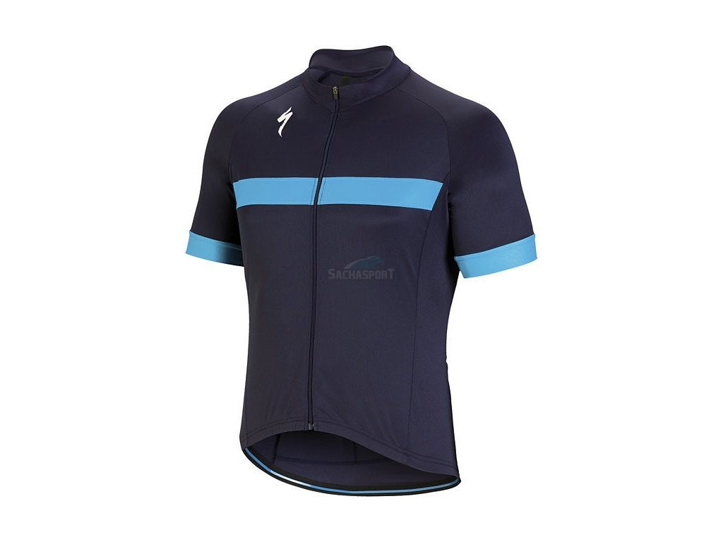 Dres Specialized RBX Sport Jersey SS blue/neon blue 2018