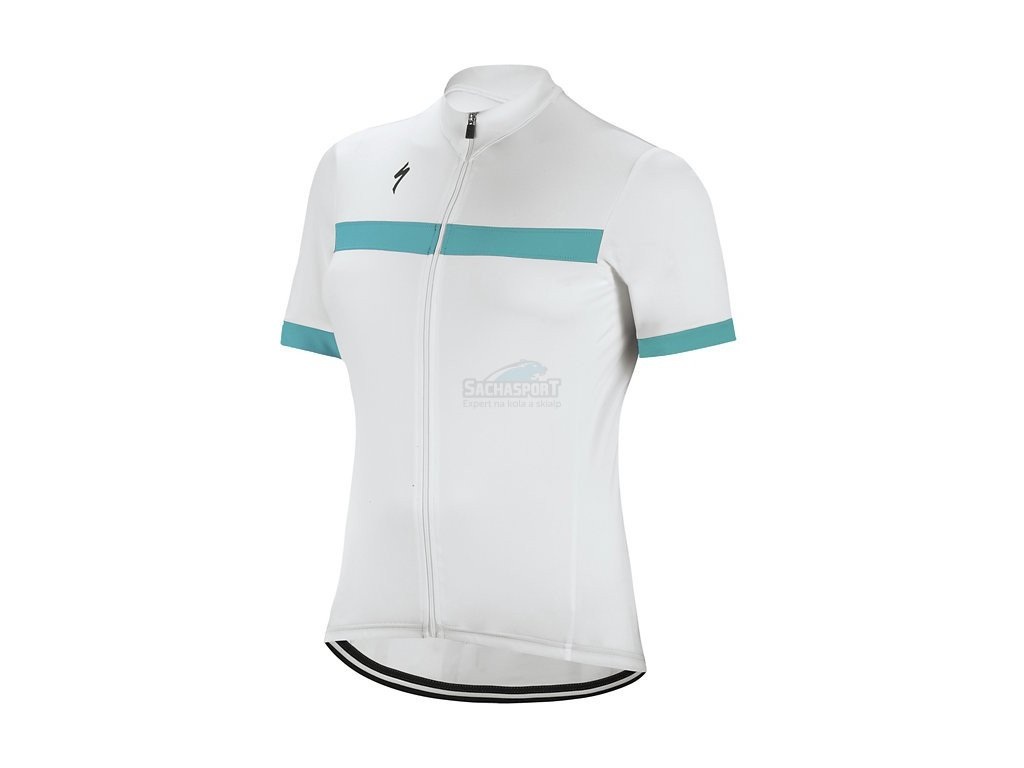 Dres Specialized RBX Sport Jersey SS WMN white/turquoise 2018