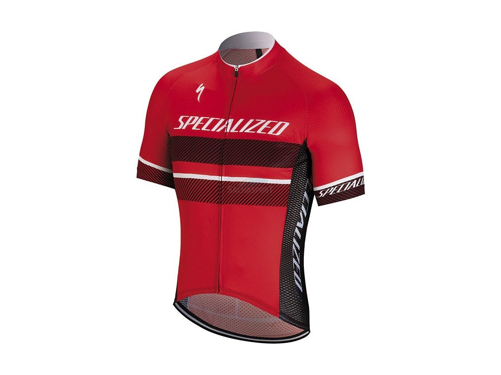 Dres Specialized RBX Comp Logo Jersey red/black 2018