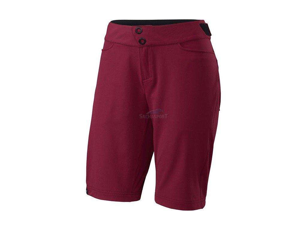Kalhoty Specialized Andorra Comp Shorts W burgundy 2017