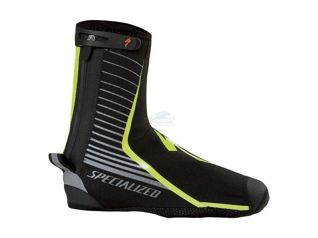 Návleky na boty Specialized Deflect Pro Shoe Cover black/neon yellow 2017