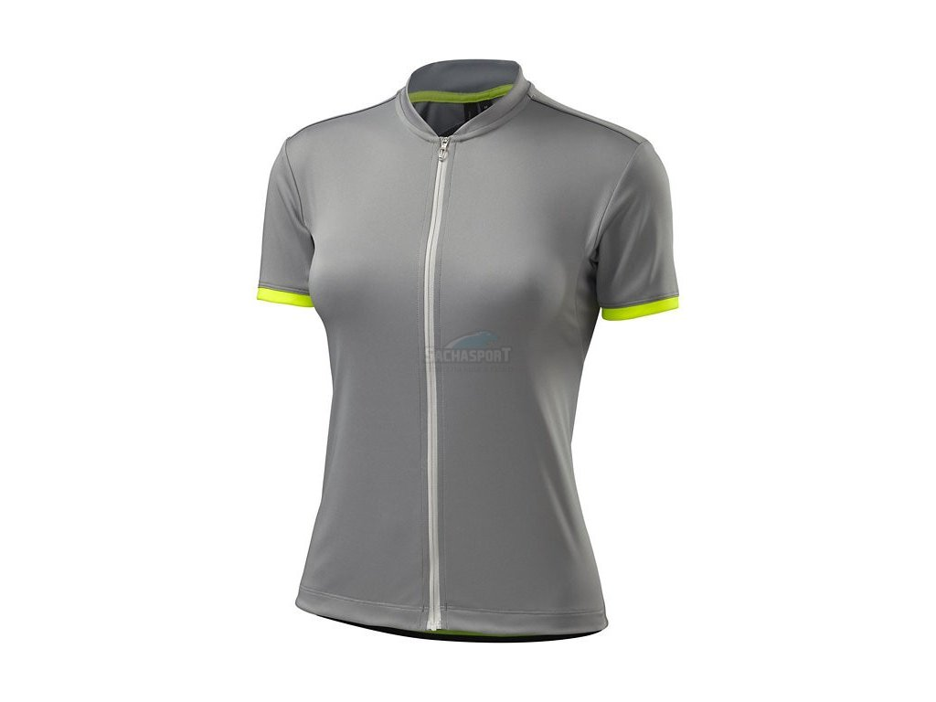 Dres Specialized RBX Sport Jersey SS WMN light grey/neon yellow M 2017