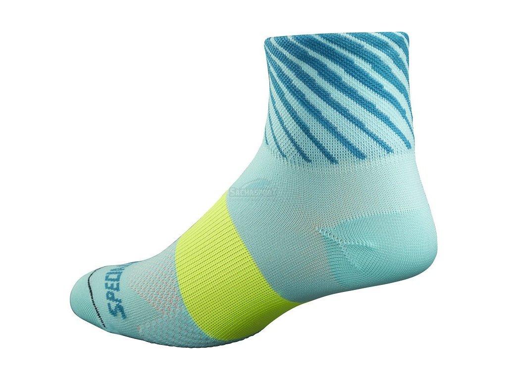 Ponožky Specialized RBX Women's Mid Socks turquoise 2017