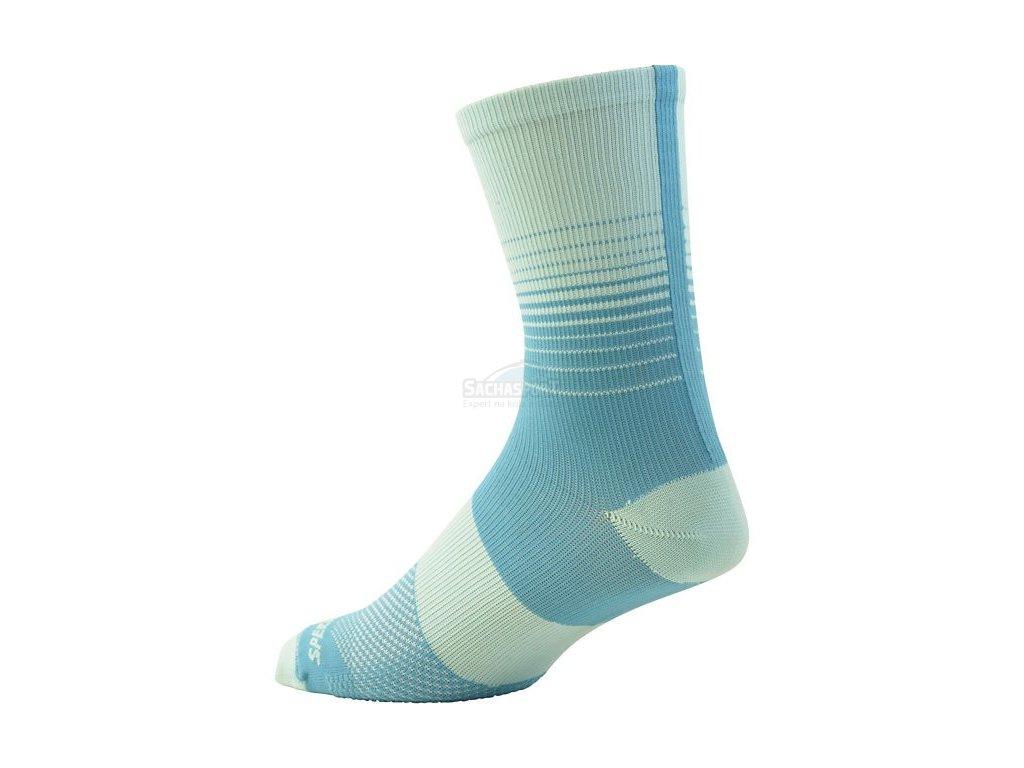 Ponožky Specialized SL Tall Women's Socks turquoise fade 2017