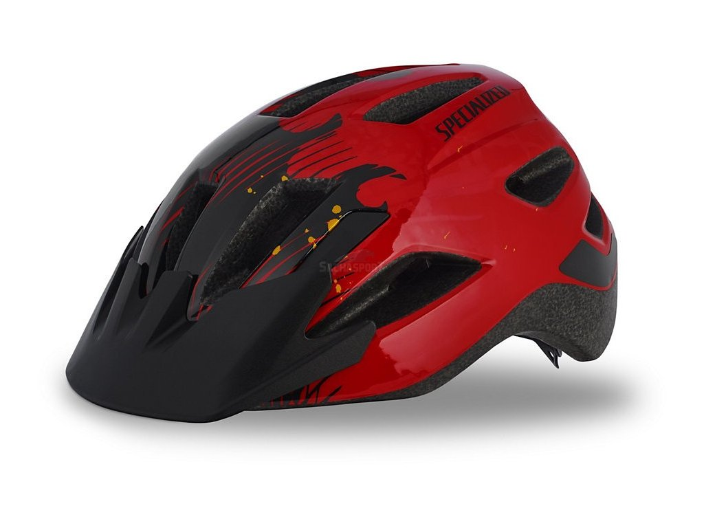 Helma Specialized Shuffle Child Led red/black flames 2019