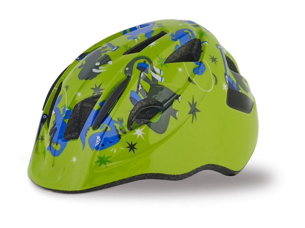 Helma Specialized Mio green/blue dinos 2019