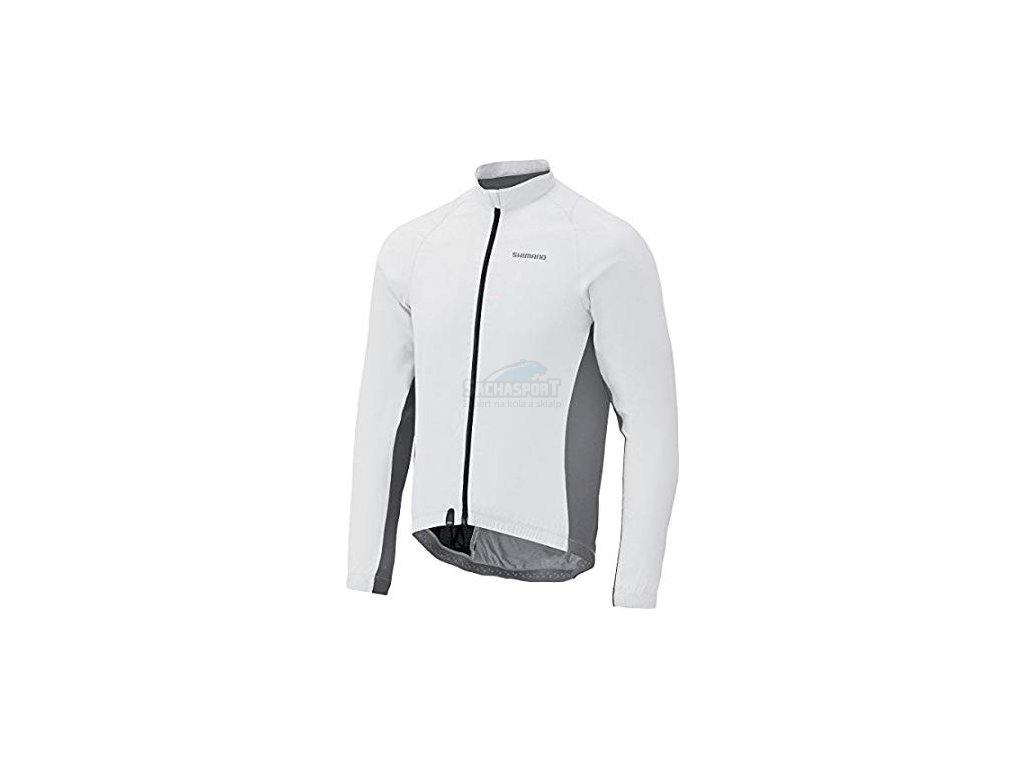 bunda Shimano Compact Windbreaker white