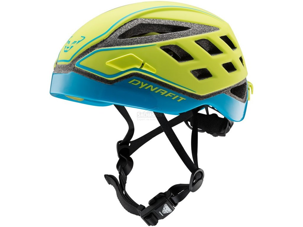 Přilba Dynafit Radical Helmet lime punch/methyl blue 20/21