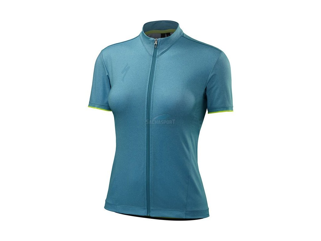 Dres Specialized Women's RBX Comp Jersey turquoise 2017
