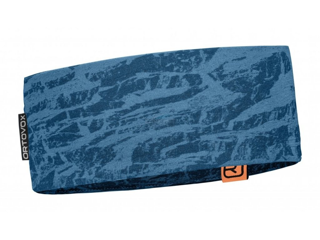 Čelenka Ortovox 120 Tec Headband blue sea 18/19