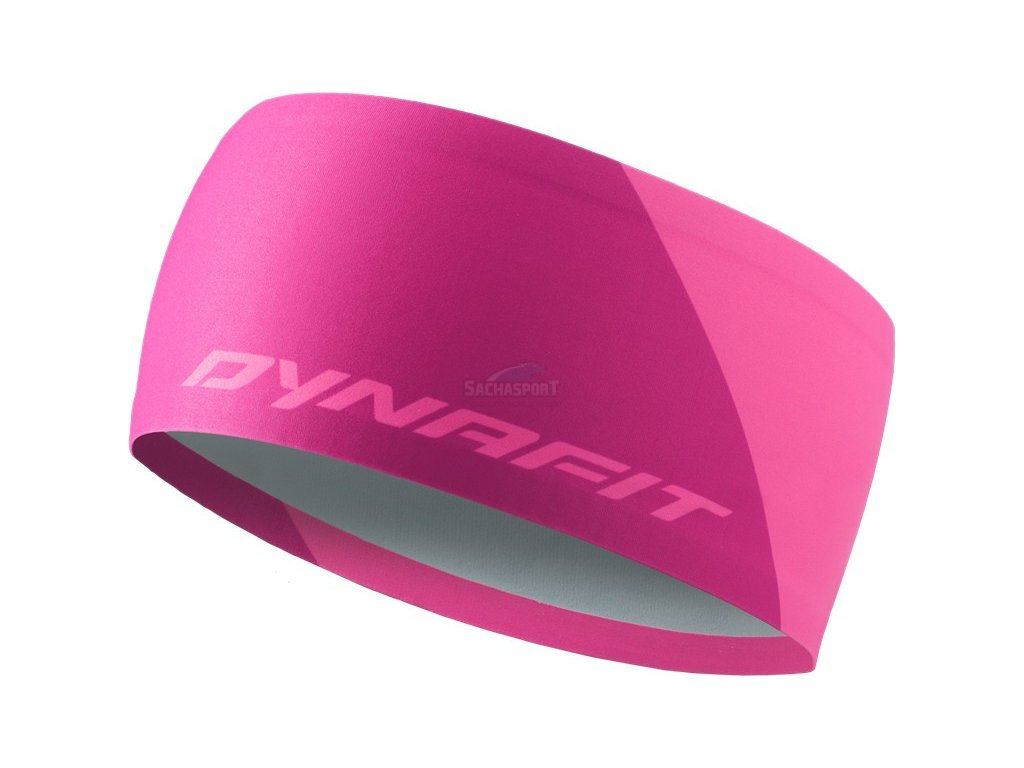 Čelenka Dynafit Performance 2 Dry Headband fluo pink 2021