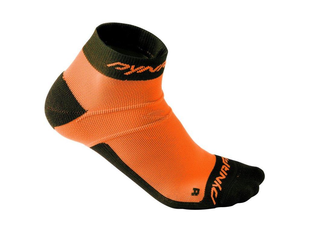 Ponožky Dynafit Vertical Mesh Footie fluo orange