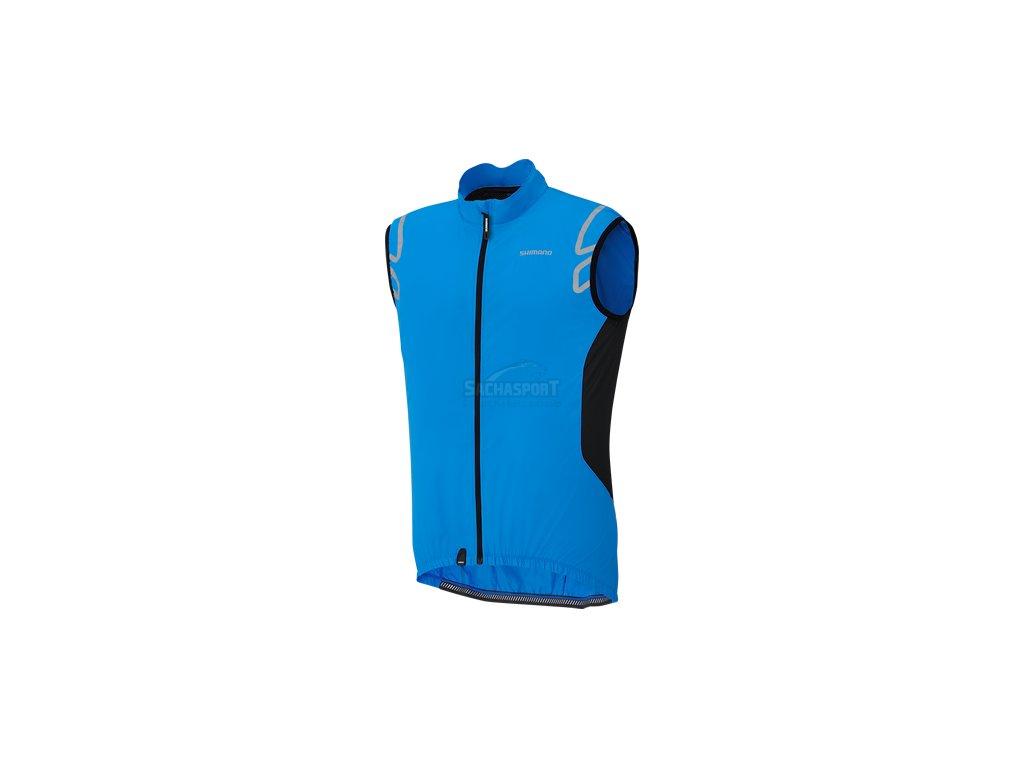 Shimano Compact Wind Vest cobalt blue