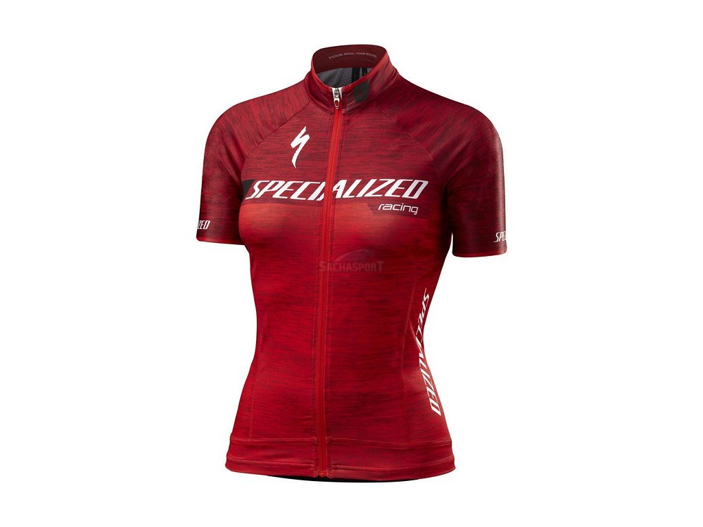 Dres Specialized Women's SL Pro Jersey team red 2017