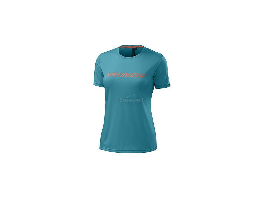 Triko Specialized Andorra Drirelease Tee WMN turquoise