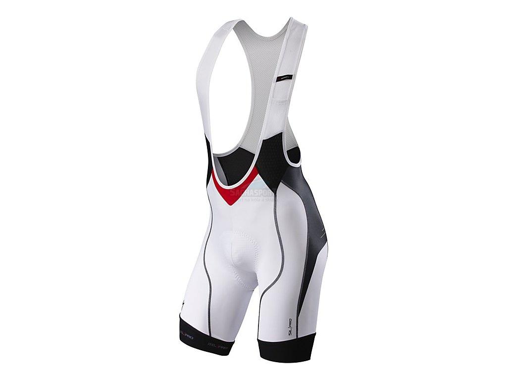 Kalhoty Specialized SL Pro Bib Short white/black 2015