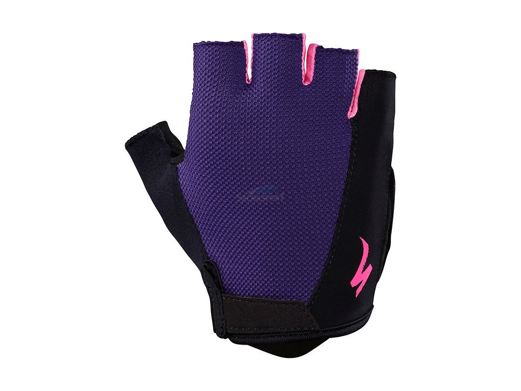 Rukavice Specialized BG Sport WMN indigo/neon pink 2019