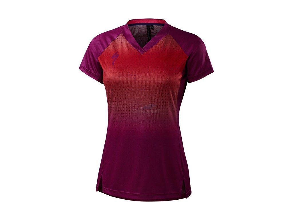 Dres Specialized Andorra Jersey SS W berry 2018