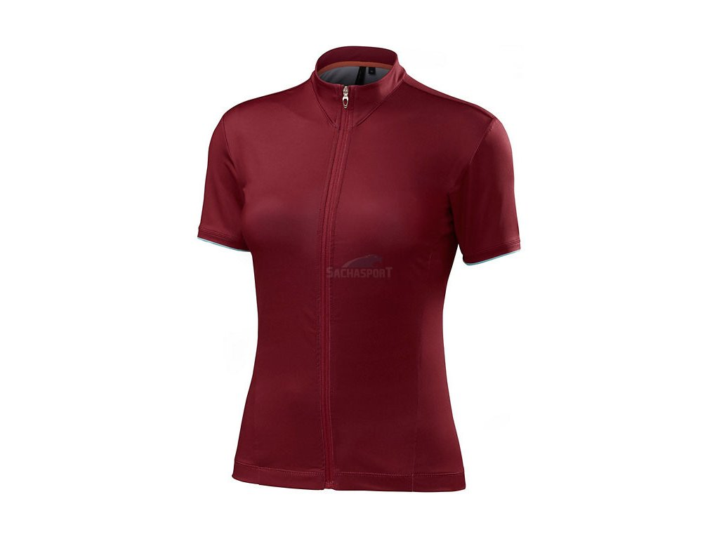 Dres Specialized Women's RBX Comp Jersey burgundy 2017