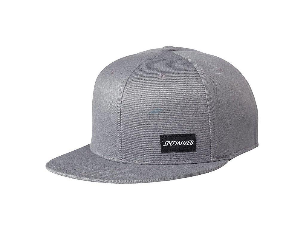 Čepice Specialized Podium Hat - Premium Fit - light grey/black 2018