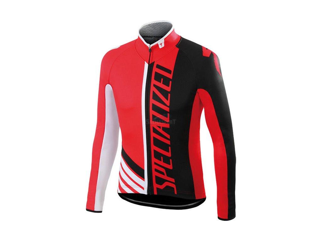 Bunda Specialized Element Pro Racing Jacket red/black/white 2016