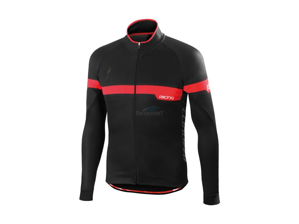 Bunda Specialized Element Team Expert Jacket black/red 2016