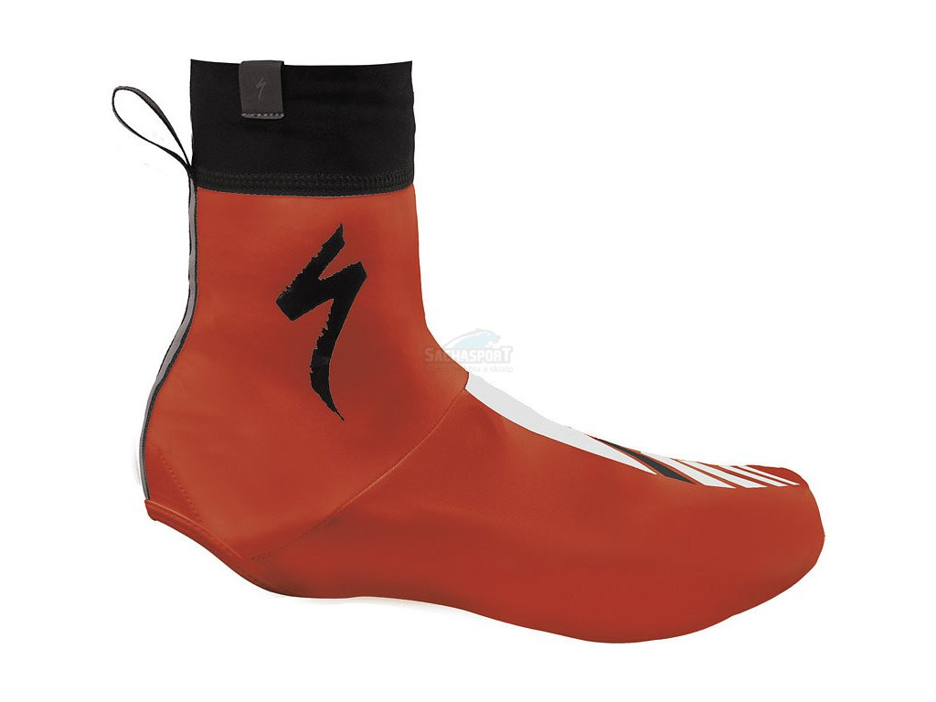 Návleky na boty Specialized Shoe Cover S-Logo red/black 2018