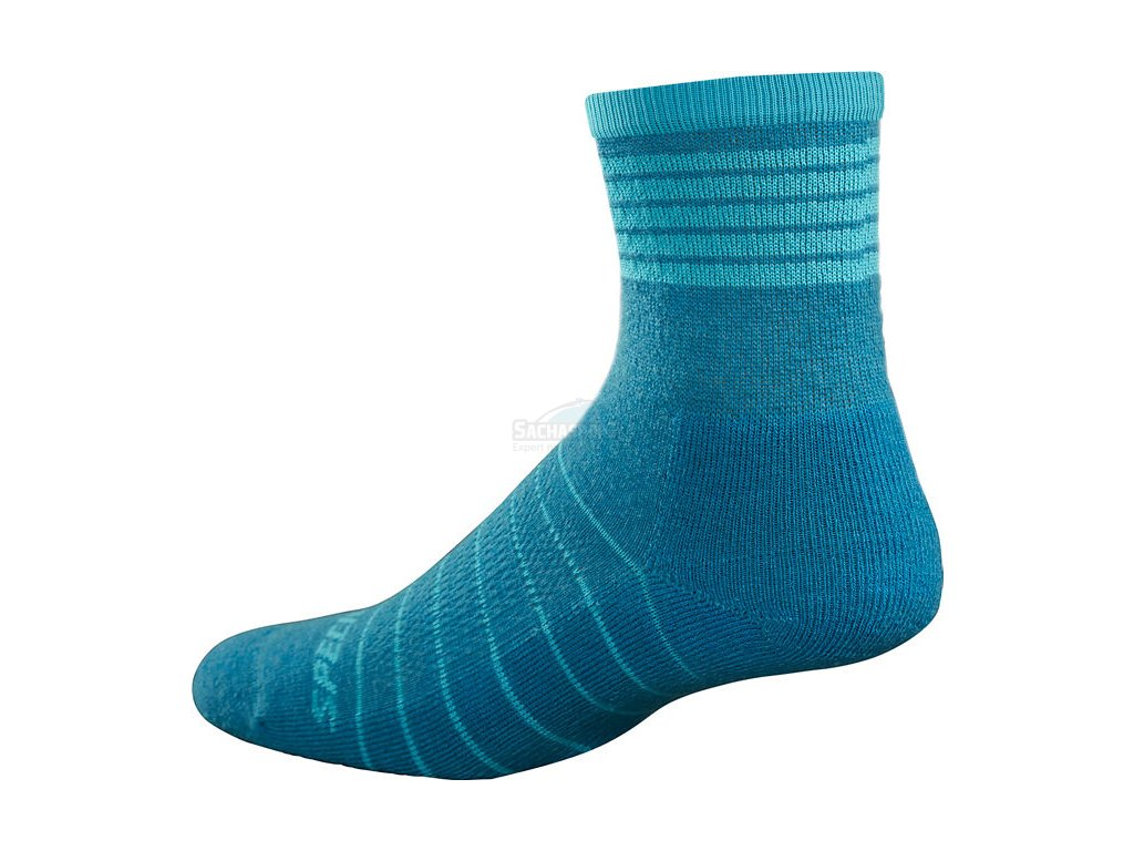 Ponožky Specialized Mountain Mid Socks WMN turquoise 2017