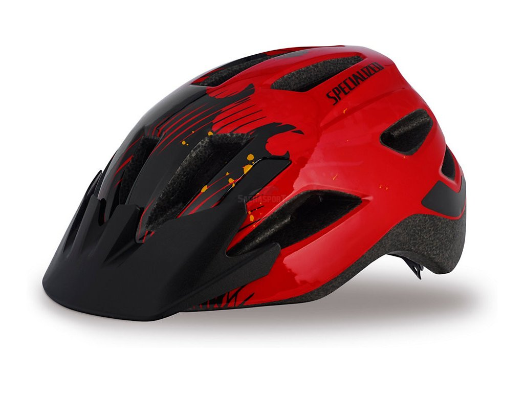 Helma Specialized Shuffle Child red/black flames 2017