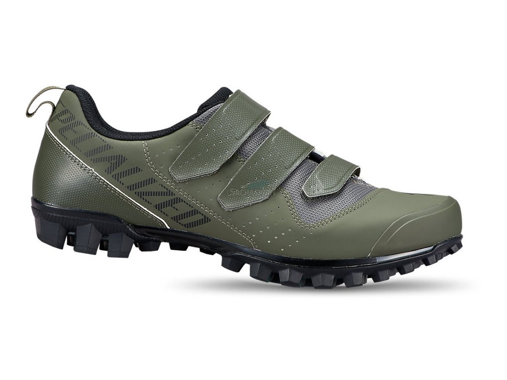 61521 014 SHOE RECON 10 MTB SHOE OAKGRN 42 HERO