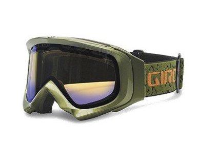 Lyžařské brýle Giro Score olive green/acid/persimmon 68
