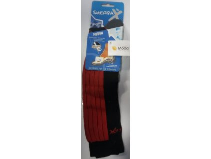 Ponožky Sherpa K2 P červená 39-42
