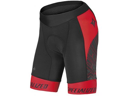 Kalhoty Specialized Authentic Team Short WMN black/red L 2014