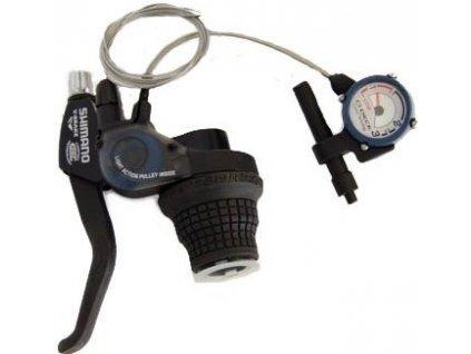 Řadící a brzdová páka Shimano SB-C051 pravá 7spd