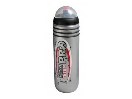 Láhev PRO Squeeze termo 500ml silver