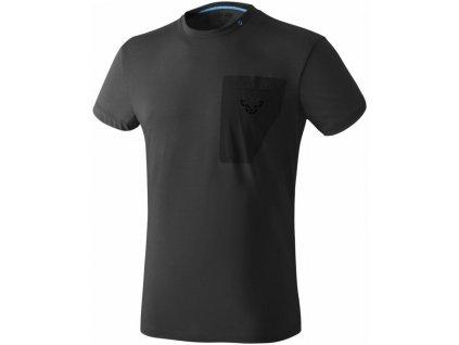 Triko Dynafit 24/7 T-Shirt Men black out melange 18/19