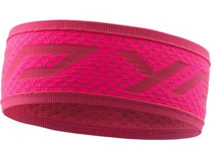 Čelenka Dynafit Dryarn 2 Headband fluo pink 19/20