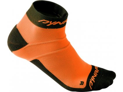 Ponožky Dynafit Vertical Mesh Footie fluo orange